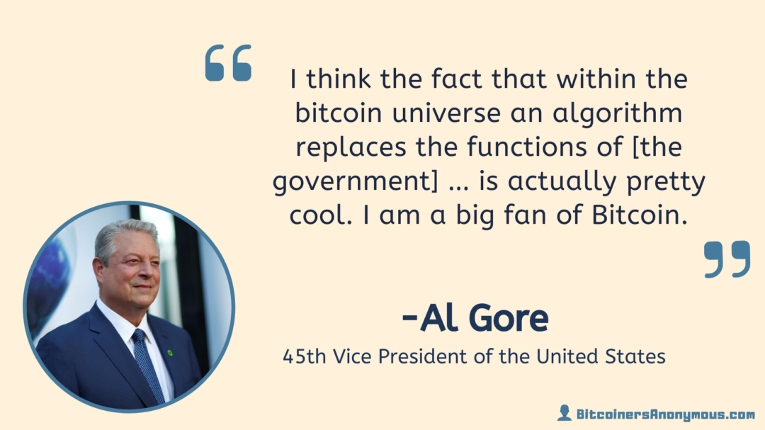 Al Gore, Vice President of the U.S.
