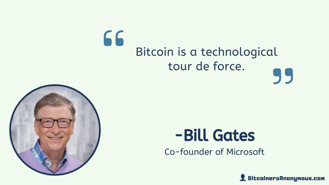 Bill Gates, CEO of Microsoft