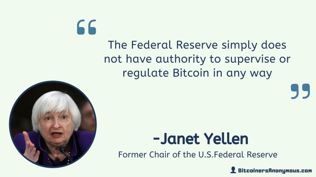 Janet Yellen, U.S. Federal Reserve