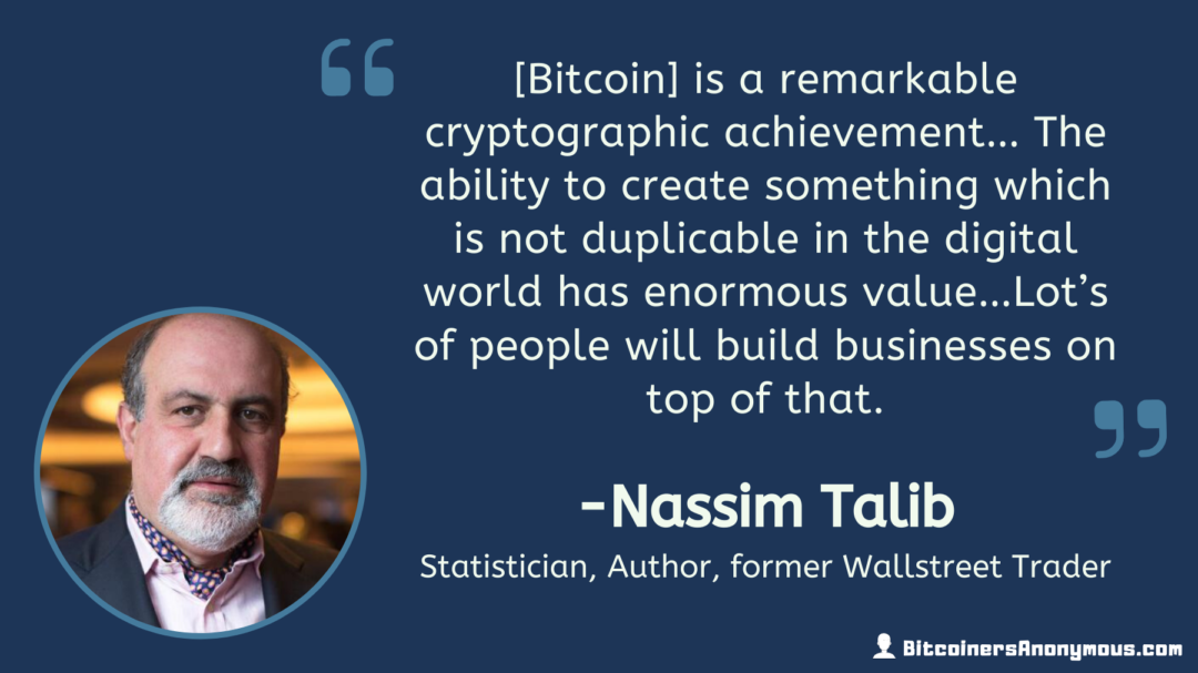 Nassim Taleb, Author, Former Wall Street