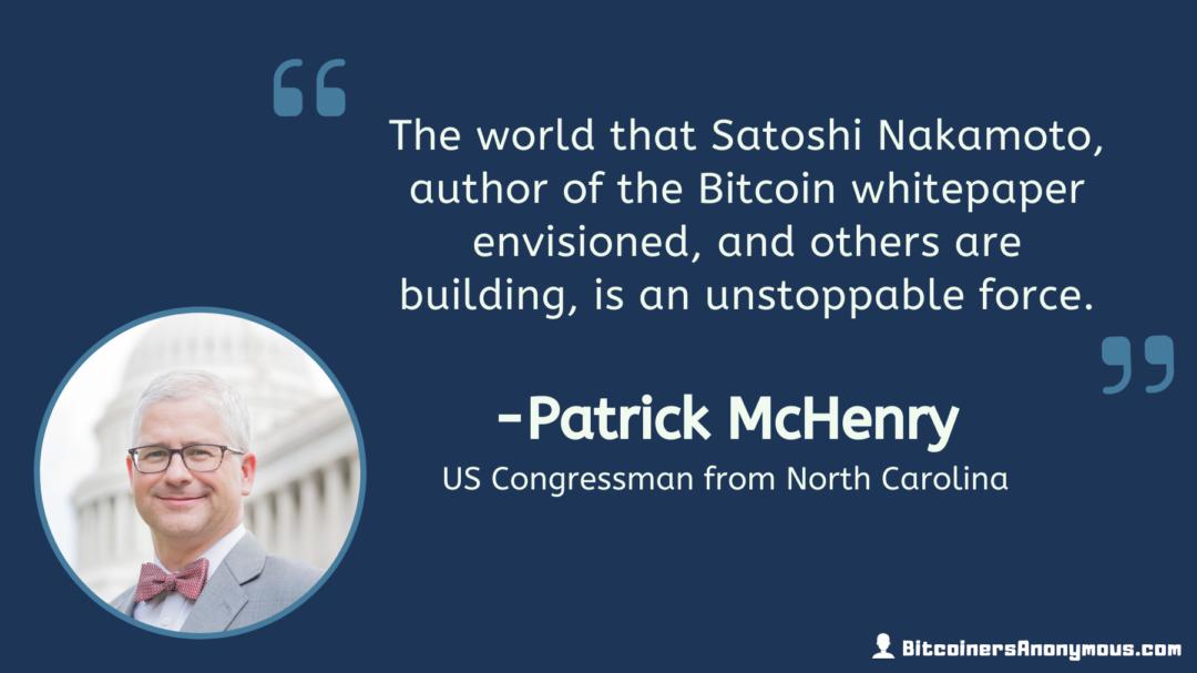 Patrick McHenry, U.S. Congressman