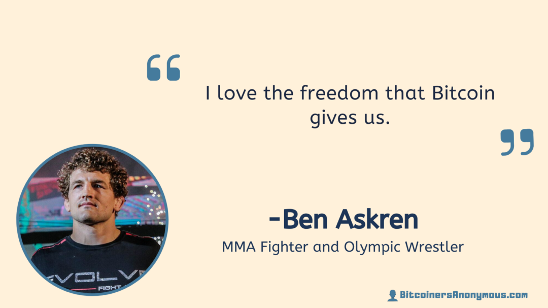 Ben Aksren, MMA Fighter and Olympian