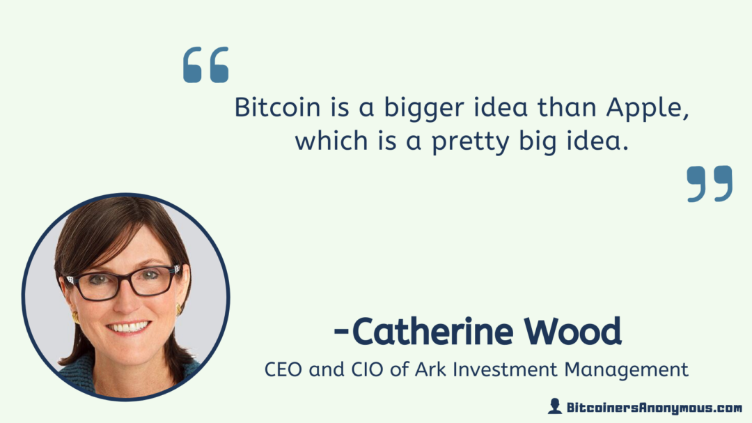 Catherine Wood, CEO of Ark Invest