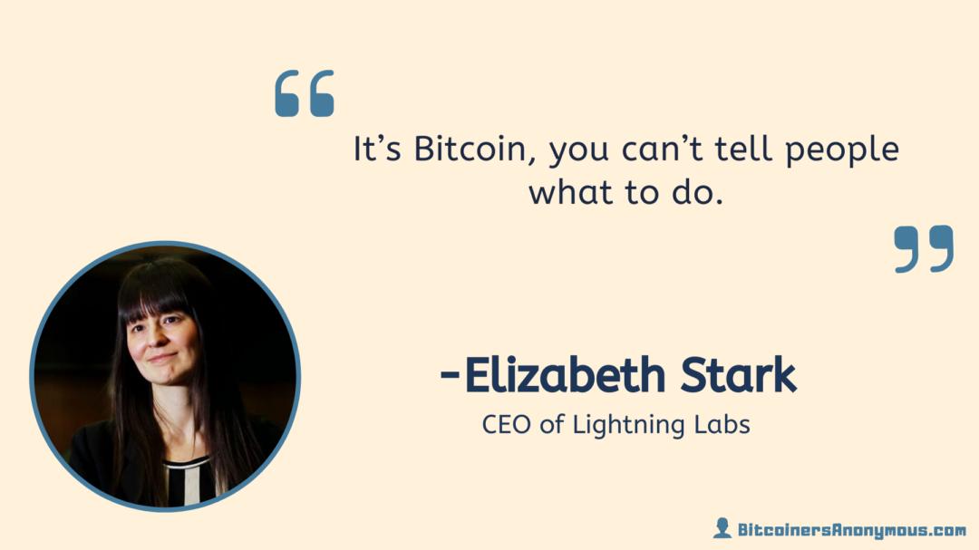 Elizabeth Stark, CEO of Lightning Labs