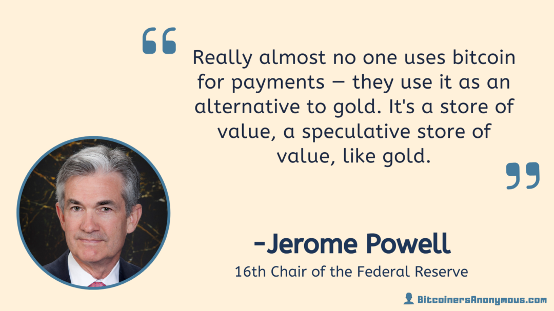 Jerome Powell, 16th Chairman of the Federal Reserve