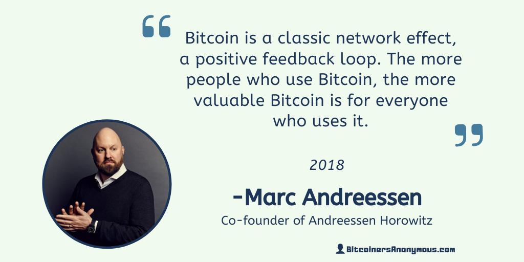 Il pioniere di Internet Marc Andreessen invia segnali Bitcoin misti in una nuova intervista