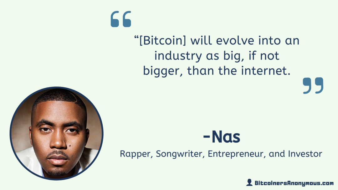 Nas, Rapper and Entrepreneur