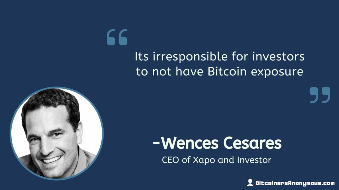 Wences Cesares, CEO of Xapo
